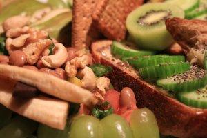 Grapes, kiwi, banana, cashew nuts and more