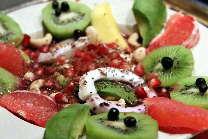 fresh fruity food